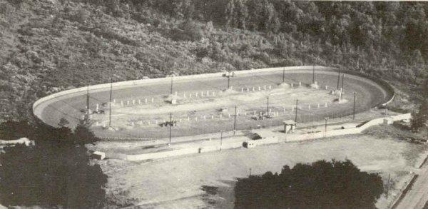 Athens Speedway in 1966, from a 1966 speedway program.