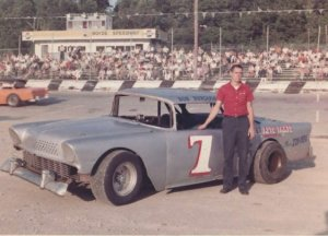 Burcham at Boyd's Speedway, located at the Georgia-Tennessee line on I-75.  It was a track Bob would see much success at.  Photo courtesy GARHOFA