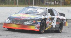 Whitmire pilots the ride along car around Peach State Speeway, now Gresham Motorsports Park.