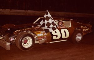 Phillips was the driver of the #90, owned by Laverne Kendrick and built by Eddie MacDonald. Rance won 77 features with this car 1981 and 1982.