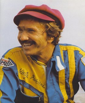 Along with being a famed country singer, Marty Robbins was a very good race car driver who occasionally competed in NASCAR and other stock car events.
