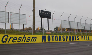 The reconstruction of the old Peach State Speedway into Gresham Motorsports Park was chosen as the top historic moment in Georgia racing for 2009.  Photo courtesy GMP media