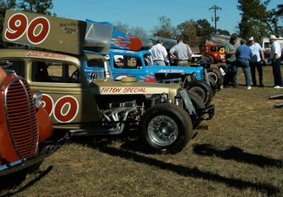 The cars and drivers on hand look like they are ready to go racing.  Photos courtesy Sherry Roberts